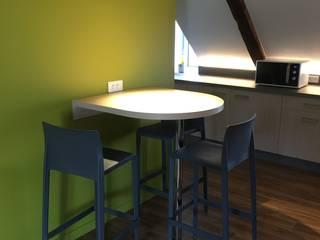 réfectoire d'entreprise Ae design Espaces de bureaux modernes