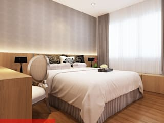 Bedroom - Tempanise Central: modern Bedroom by Posh Home
