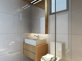 Bath Room - Tempanise Central: modern Bathroom by Posh Home