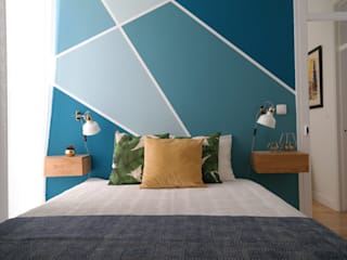 Modern style bedroom by aponto Modern