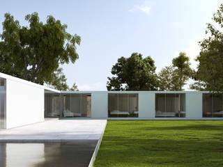 Residência GS Casas minimalistas por Daher Jardim Minimalista