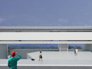 Residência MG Casas minimalistas por Daher Jardim Minimalista