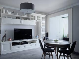 Квартира в стиле Современная классика:  в . Автор – Дизайн-студия Elena Rudenko Design
