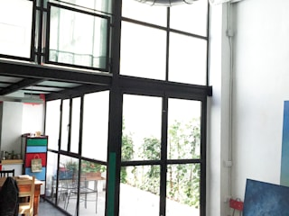 Ultramarino: Oficinas y Tiendas de estilo  de Atelier SIBA