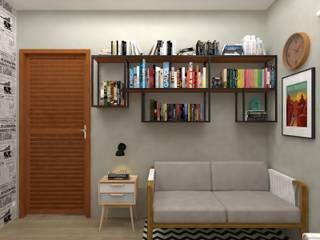 Scandinavian style study/office by Atelie 3 Arquitetura Scandinavian