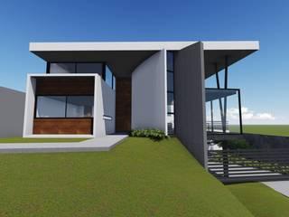 CASA CAPA: Casas de estilo  por JCP INTERIOR DESIGN