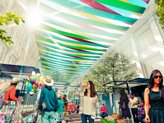 Propuesta de cubiertas para el callejón de los pobres de Maracaibo. de Pertopia Colonial