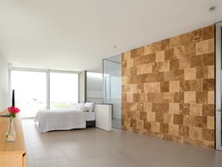 Habitaciones modernas de Chetecortés Moderno