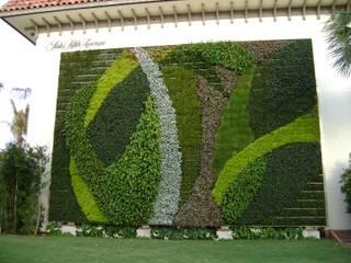 vertical garden Pusat Perbelanjaan Modern Oleh NISCALA GARDEN | Tukang Taman Surabaya Modern