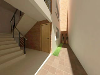 RENDER INTERIO: Casas de estilo moderno por FORMAS ARQUITECTURA