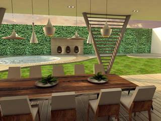 Jardines de estilo moderno de Interiorista Teresa Avila Moderno