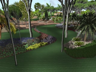 Vivai Toffoli Jardines de estilo moderno