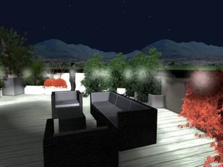 Vivai Toffoli Balcones y terrazas de estilo moderno