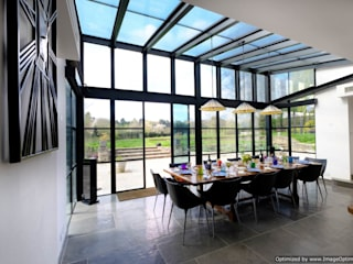 Rowood Farmhouse IQ Glass UK Modern dining room