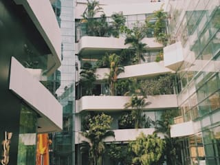 Emquartier 2014-2015 Moderne Geschäftsräume & Stores von Ecologic City Garden - Paul Marie Creation Modern