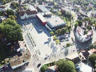 Neugestaltung des Marktplatzes in Bünde von Landschaftsarchitektur+