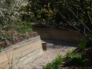 Jardin Humus Sapiens Sapiens Jardin minimaliste par Cécile Charpentier Minimaliste