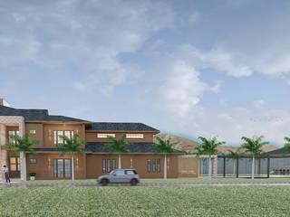 Residencia Campo Moderna: Casas  por CAV Arquitetura & Interiores