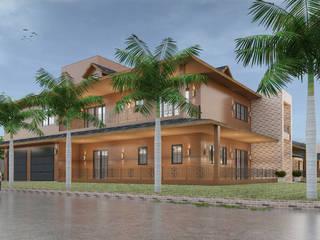 Residencia Florianópolis: Casas  por CAV Arquitetura & Interiores
