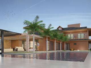Residencia Florianópolis Piscinas modernas por CAV Arquitetura & Interiores Moderno