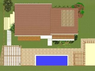 Residencia Lagoa Casas ecléticas por CAV Arquitetura & Interiores Eclético