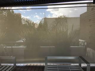 Balkon, Beranda & Teras Modern Oleh Materia Viva S.A. de C.V. Modern