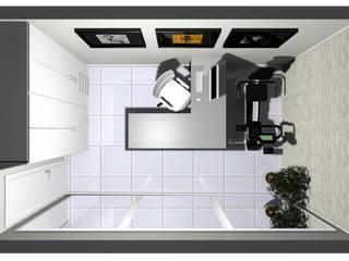 Apartamento Brasília - DF:   por CAV Arquitetura & Interiores