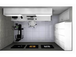 Apartamento Brasília - DF por CAV Arquitetura & Interiores