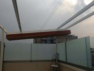 Balcones y terrazas de estilo moderno de Materia Viva S.A. de C.V. Moderno