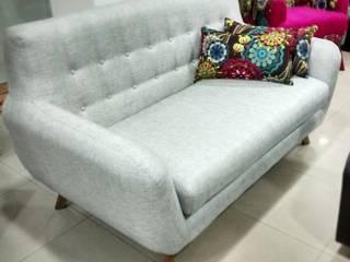 sofa escandinavo de AMOBLARTE MUEBLES Y DISEÑO INTERIOR Escandinavo