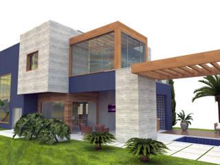 Casa de Férias: Casas  por Patricia Moreno A R Q U I T E T U R A