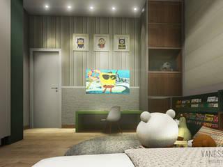 Projeto de Interior - Casa C e F : Quarto infantil  por Vanessa Resende Arquitetura e Interiores ,Moderno