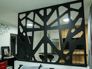 Apartamento DM - Spazio Blu: Salas de estar  por LFL - Arquitetura & Urbanismo,Moderno