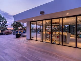 SEGUNDO PISO: Casas de estilo moderno por DMS Arquitectas