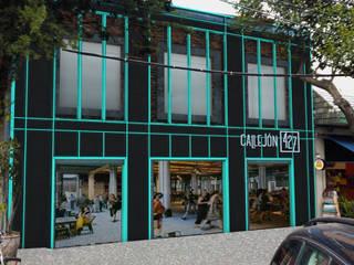 Callejón 427: Casas de estilo  por Kontrast Arquitectos