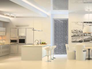 Effebiquattro S.p.A. Office spaces & stores Glass Transparent