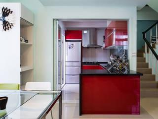 Industrial style kitchen by 果仁室內裝修設計有限公司 Industrial
