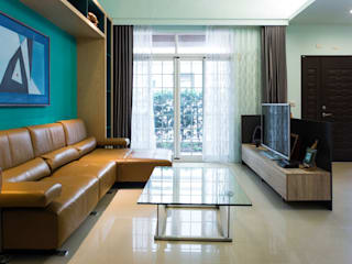 Industrial style living room by 果仁室內裝修設計有限公司 Industrial