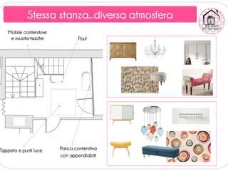 Modern corridor, hallway & stairs by STUDIO ARCHIBENESSERE Modern
