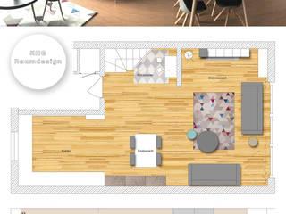 KHG Raumdesign - Innenarchitektin in Berlin und Umland, mgr. ing. Architektur Katharina Hajduk-Gast 客廳邊桌與托盤