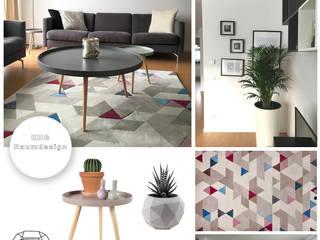 KHG Raumdesign - Innenarchitektin in Berlin und Umland, mgr. ing. Architektur Katharina Hajduk-Gast 客廳電視櫃