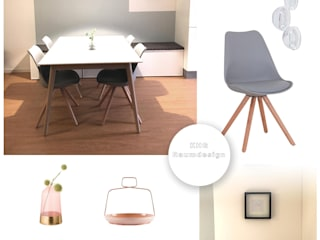 KHG Raumdesign - Innenarchitektin in Berlin und Umland, mgr. ing. Architektur Katharina Hajduk-Gast 餐廳椅子與長凳