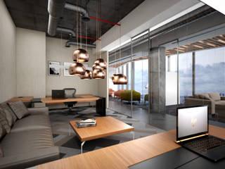 TARKAN OKTAY MİMARLIK – IPM Group :  tarz Ofis Alanları