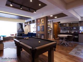 Apartamento RS.703 - Passo Fundo|RS Studio Grammés • Arquitetura Salas de estar modernas