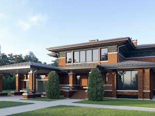 Classic style houses by Архитектурное бюро Art&Brick Classic