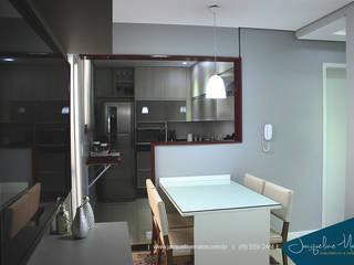 Projeto de interior | Apartamento Cozinhas modernas por Jacqueline Matos Arquitetura e Interiores Moderno