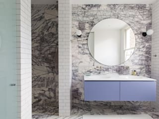 Brook Green London townhouse Bagno moderno di My-Studio Ltd Moderno
