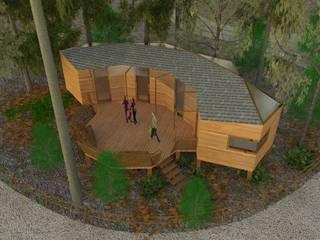 Studio dt Arch&Art Rustik Yatak Odası