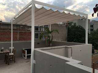 Terrazas de estilo  por Materia Viva S.A. de C.V.