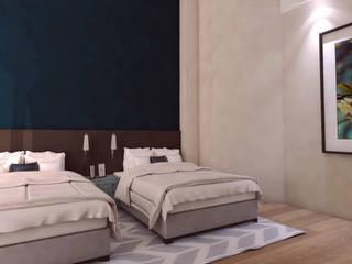 Velas Resort Hotel Master Suite de Interiorista Teresa Avila Moderno